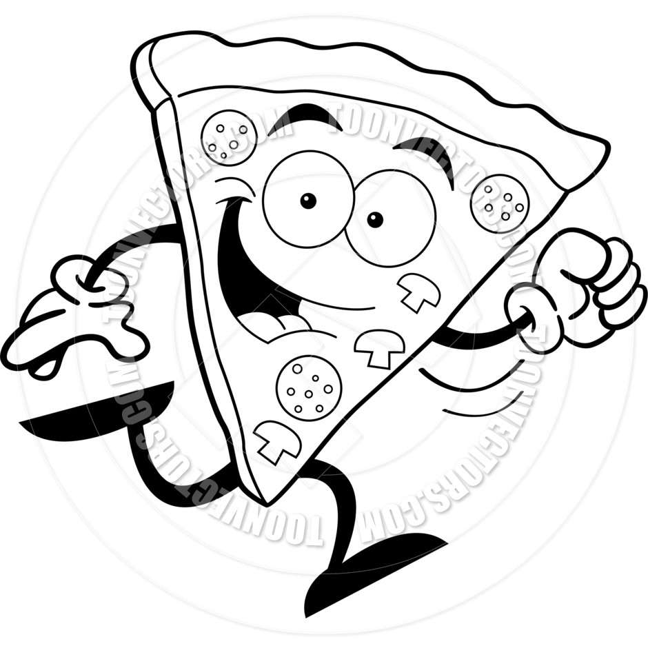 Free clipart pizza black and white vector royalty free stock 31+ Pizza Clipart Black And White | ClipartLook vector royalty free stock