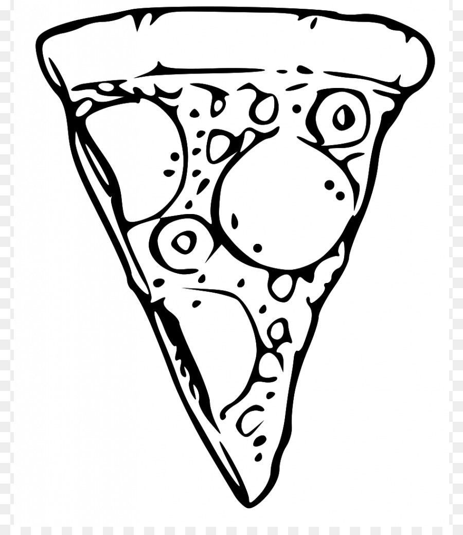 Free clipart pizza black and white svg royalty free library Pizza Black And White Png & Free Pizza Black And White.png ... svg royalty free library