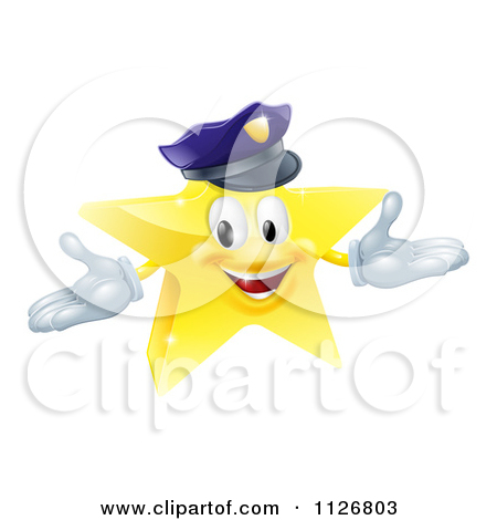 Free clipart police star banner free stock Clipart of a Black and White Vintage Etched Engraved Sheriff Star ... banner free stock