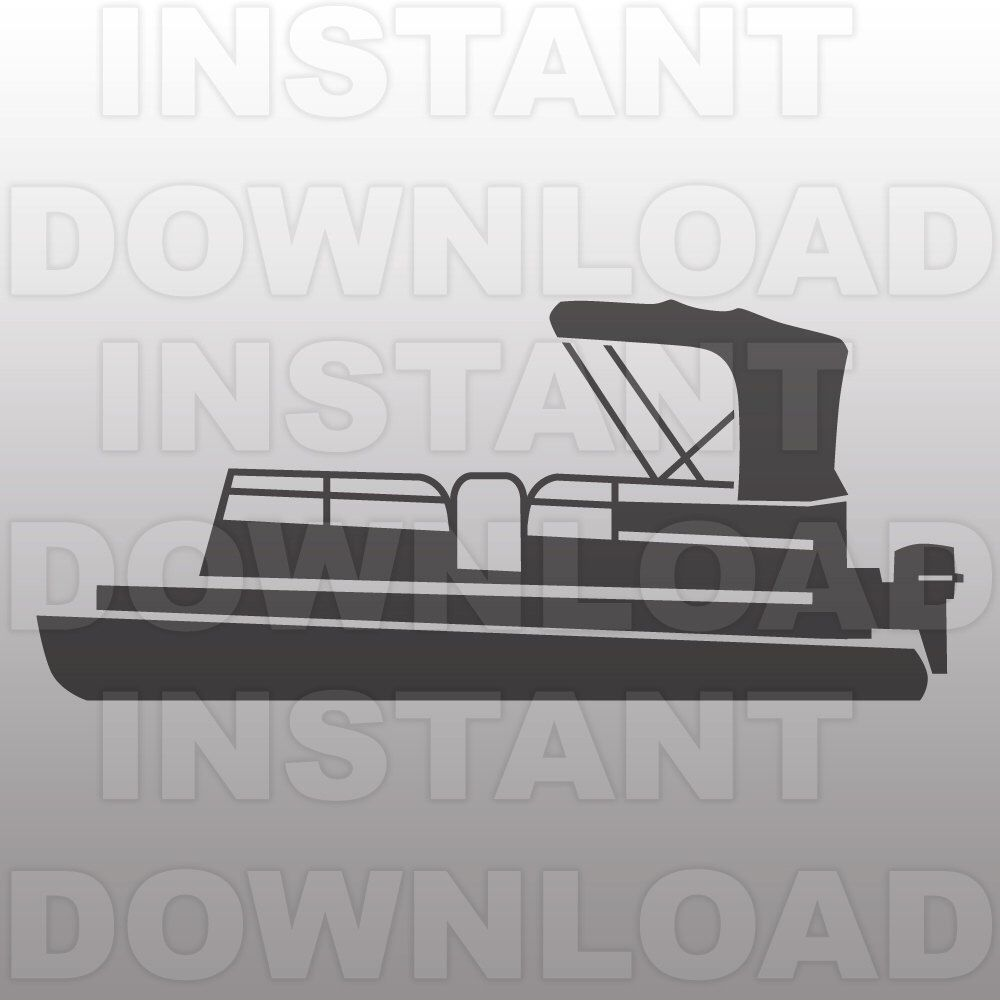 Free clipart pontoon boat graphic freeuse library Pin by Christie Anderson on Cricut   Pontoon boat, Lake life, Best ... graphic freeuse library
