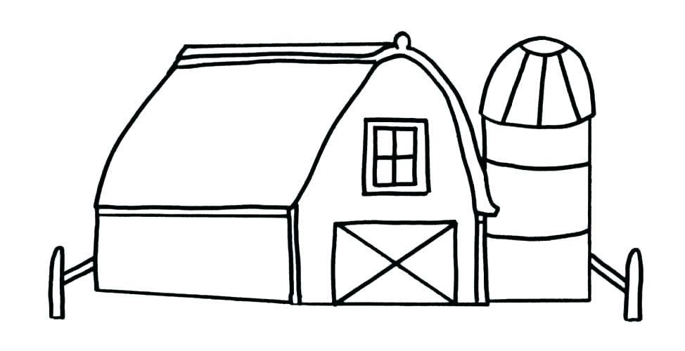 Farm ommediawerks com . Free clipart printable black and white coloring pages barns