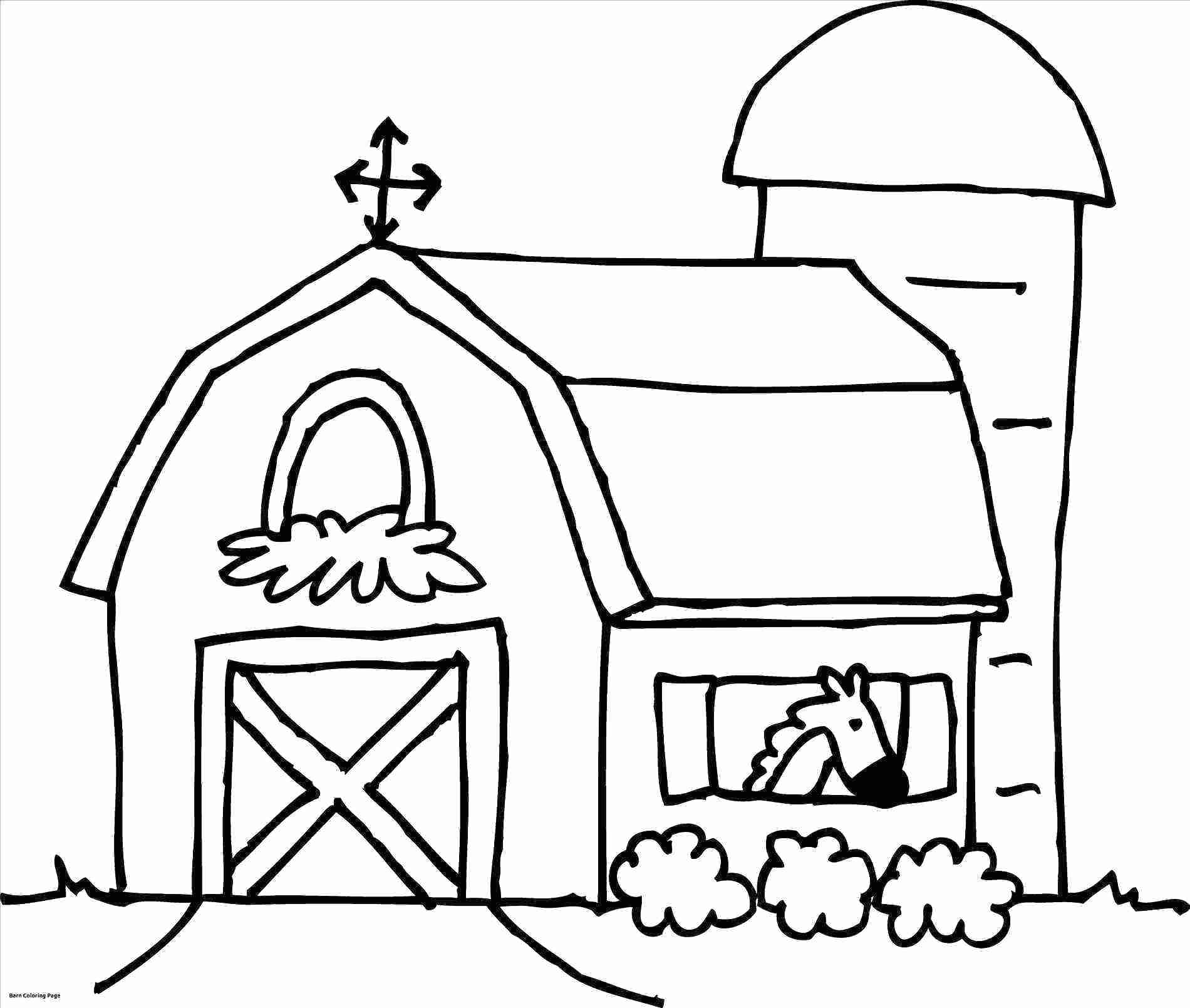 Free clipart printable black and white coloring pages barns. Jackpotprint co