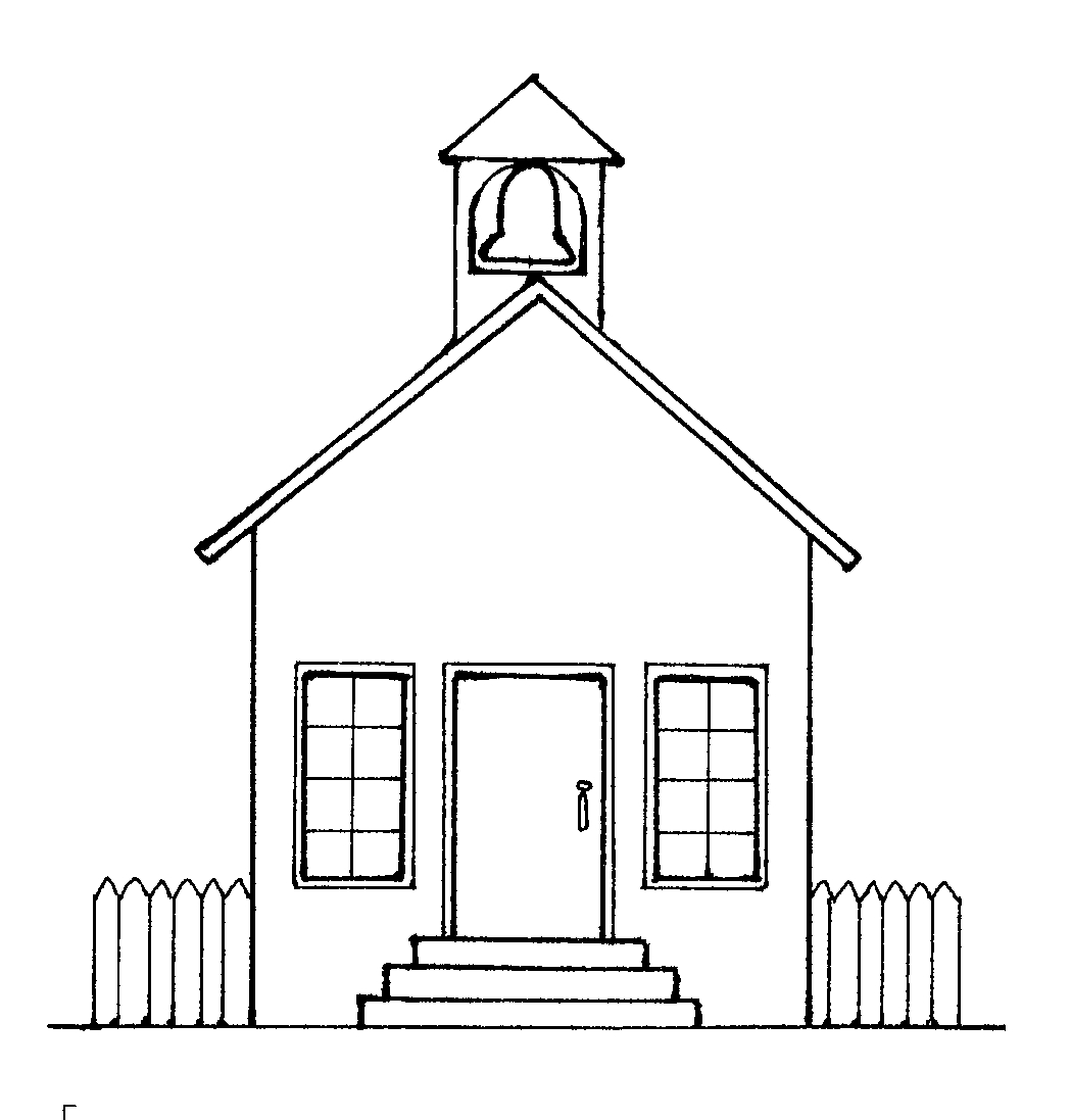 House legos construction clipart black and white