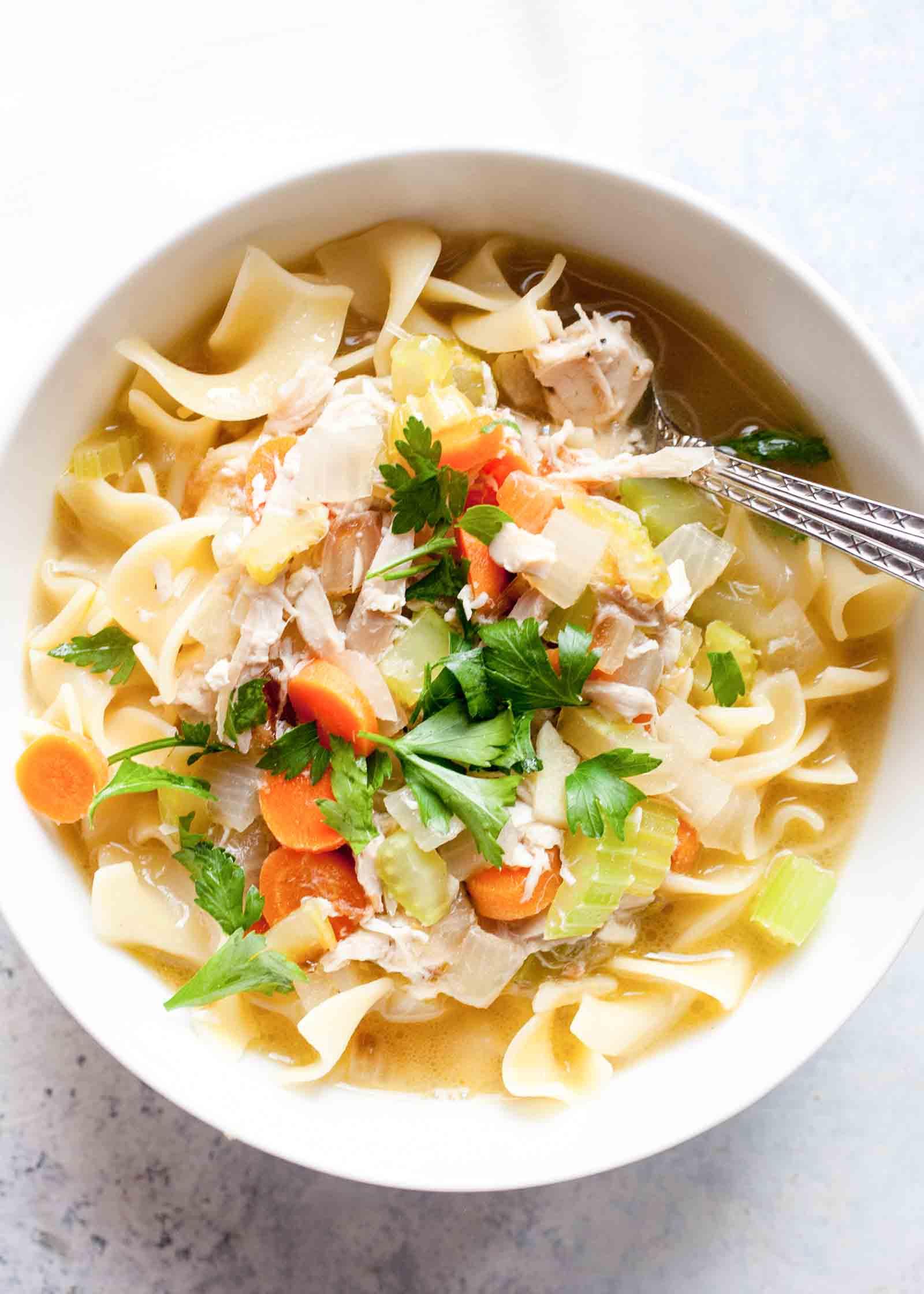 Free clipart printables for chicken n noodle dinner jpg black and white stock Rotisserie Chicken Noodle Soup jpg black and white stock