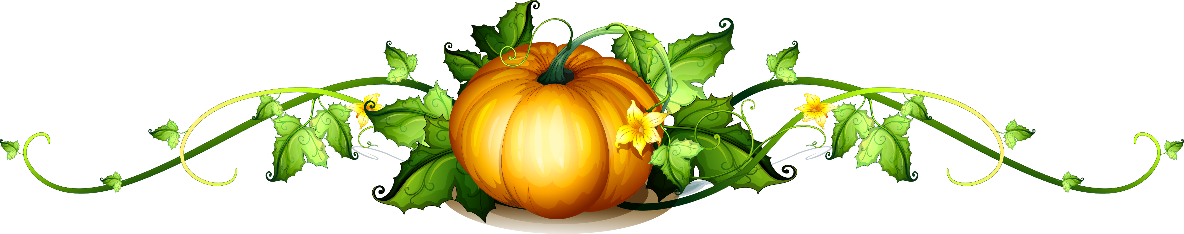 Pumpkin leaf clipart picture library stock Pumpkin Vine Royalty-free Clip art - pumpkin,vegetables,leaf 3762 ... picture library stock