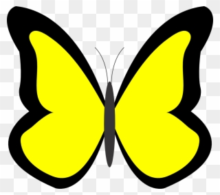 Free clipart purple and yellow butterfly png banner library Free PNG Yellow Butterfly Clip Art Download - PinClipart banner library