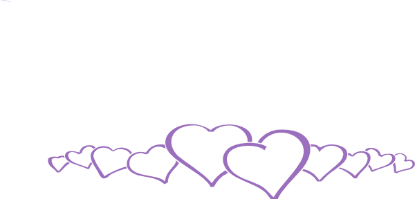 Two joined purple heart clipart graphic transparent stock Free Purple Wedding Cliparts, Download Free Clip Art, Free Clip Art ... graphic transparent stock