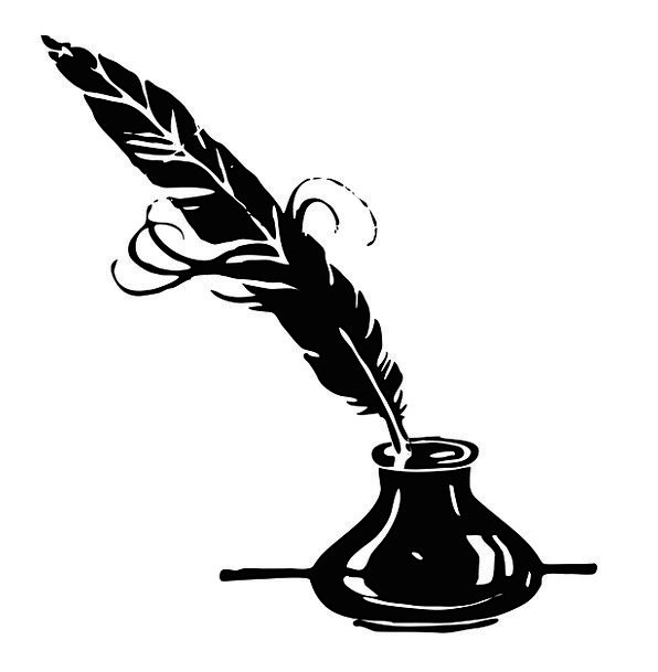 Free clipart quill pen and ink vintage. Toner coop pot image