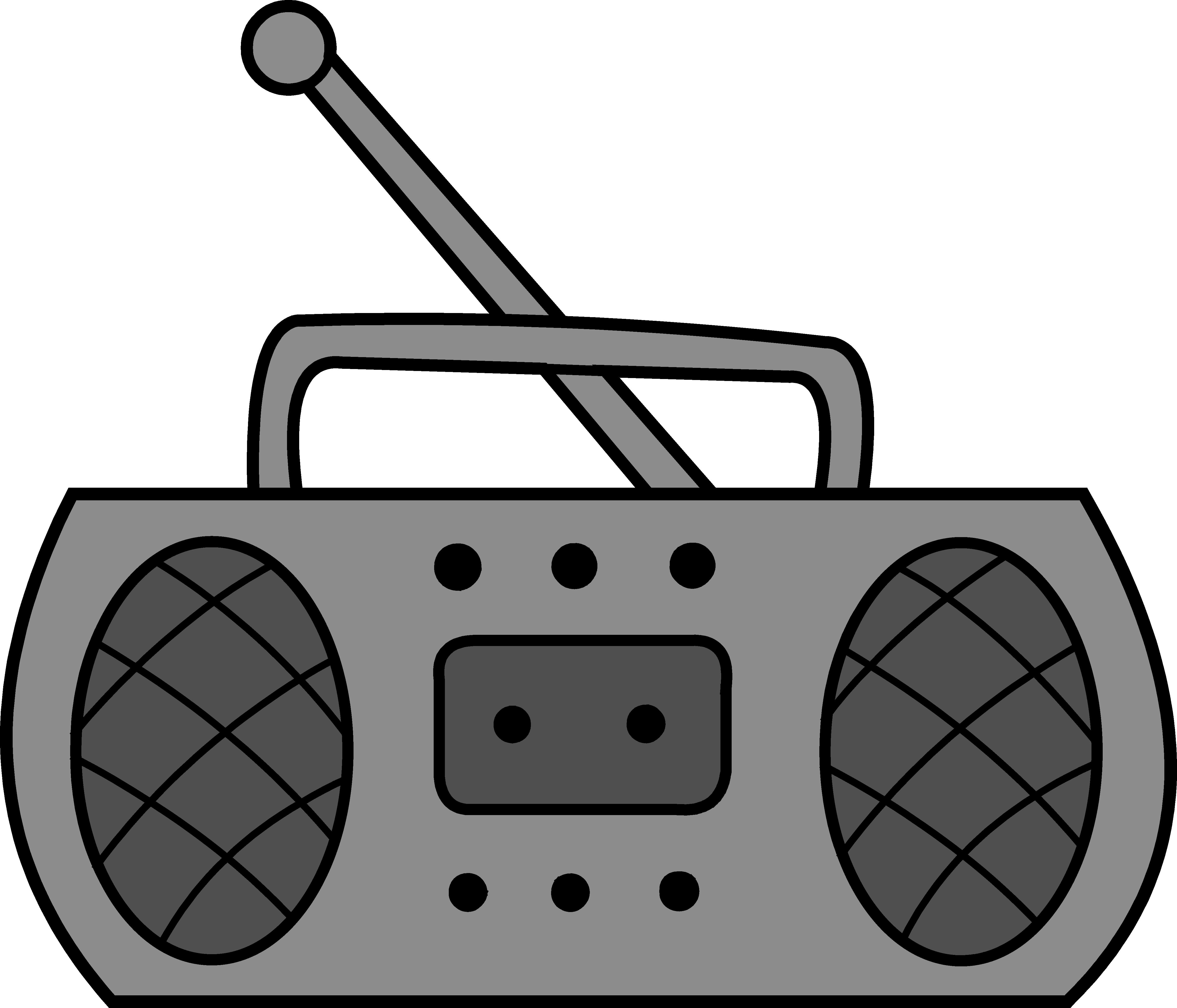 Radiio clipart graphic freeuse Cute Radio Clipart Design - Free Clip Art graphic freeuse