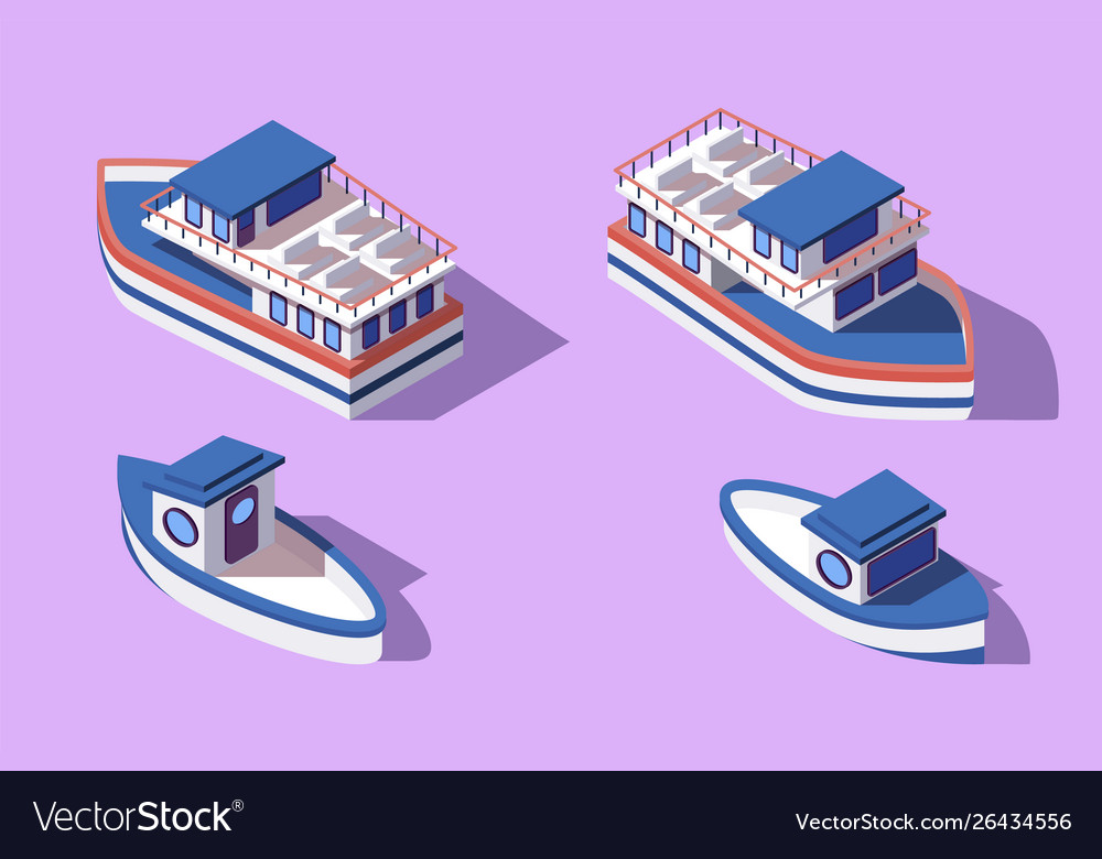 Free clipart rail barge transport clip art freeuse stock 3d isometric big and small boat and barge vector image clip art freeuse stock