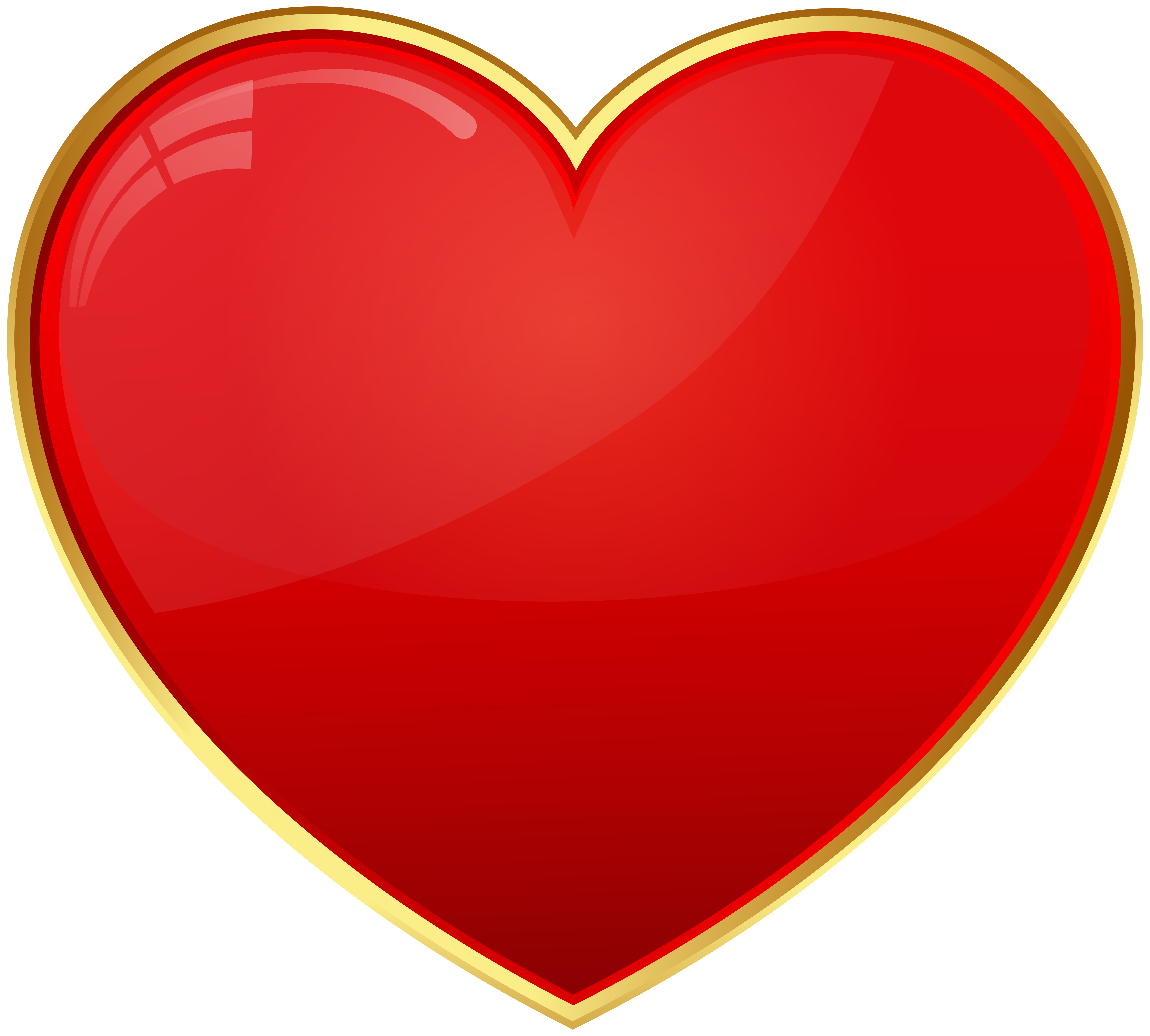 Free clipart red heart clip art transparent Red Heart Transparent Clip Art   Gallery Yopriceville - High ... clip art transparent