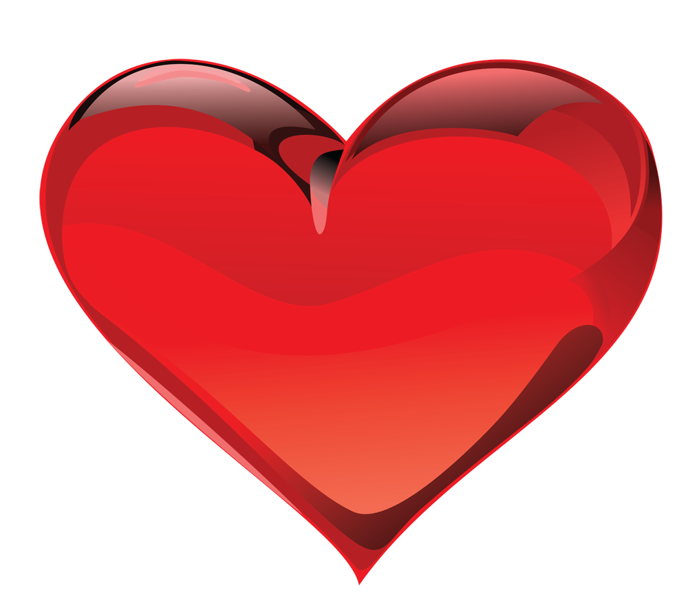 Red heart clipart high resolution png black and white stock Red Heart PNG Image - PurePNG | Free transparent CC0 PNG Image Library png black and white stock