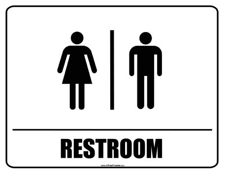 Free clipart restroom signs clip royalty free library Free Bathroom Signs, Download Free Clip Art, Free Clip Art on ... clip royalty free library