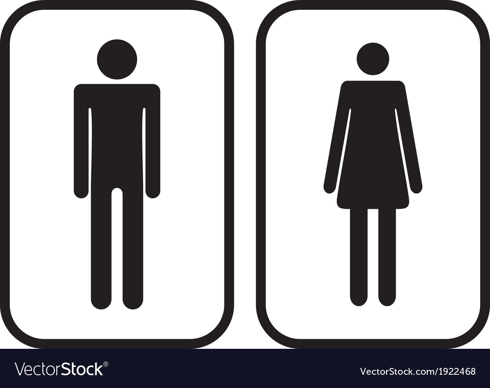 Free clipart restroom signs picture free download Man and Woman restroom signs picture free download