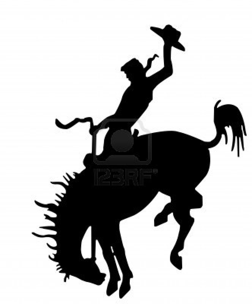 Western silhouette clipart jpg royalty free download Rodeo Silhouette Clipart | Free download best Rodeo Silhouette ... jpg royalty free download