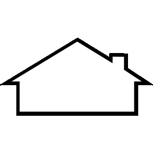 Free clipart roof. Home cliparts download clip