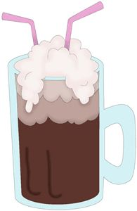 Free clipart root beer float.  clipartlook