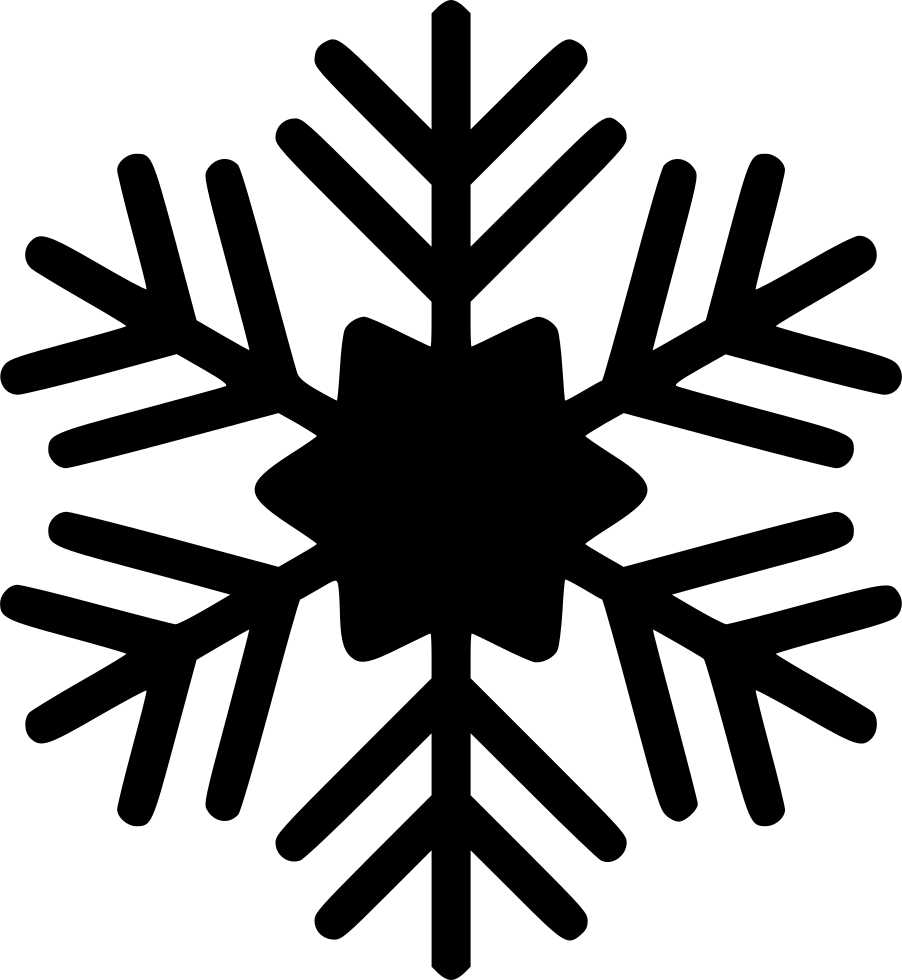 Free clipart round snowflake svg freeuse Snowflake Snow Winter Svg Png Icon Free Download (#569349 ... svg freeuse