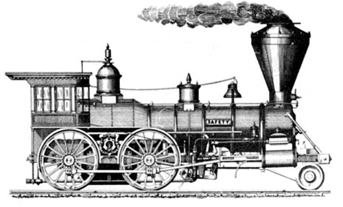 Free clipart running out of steam roller