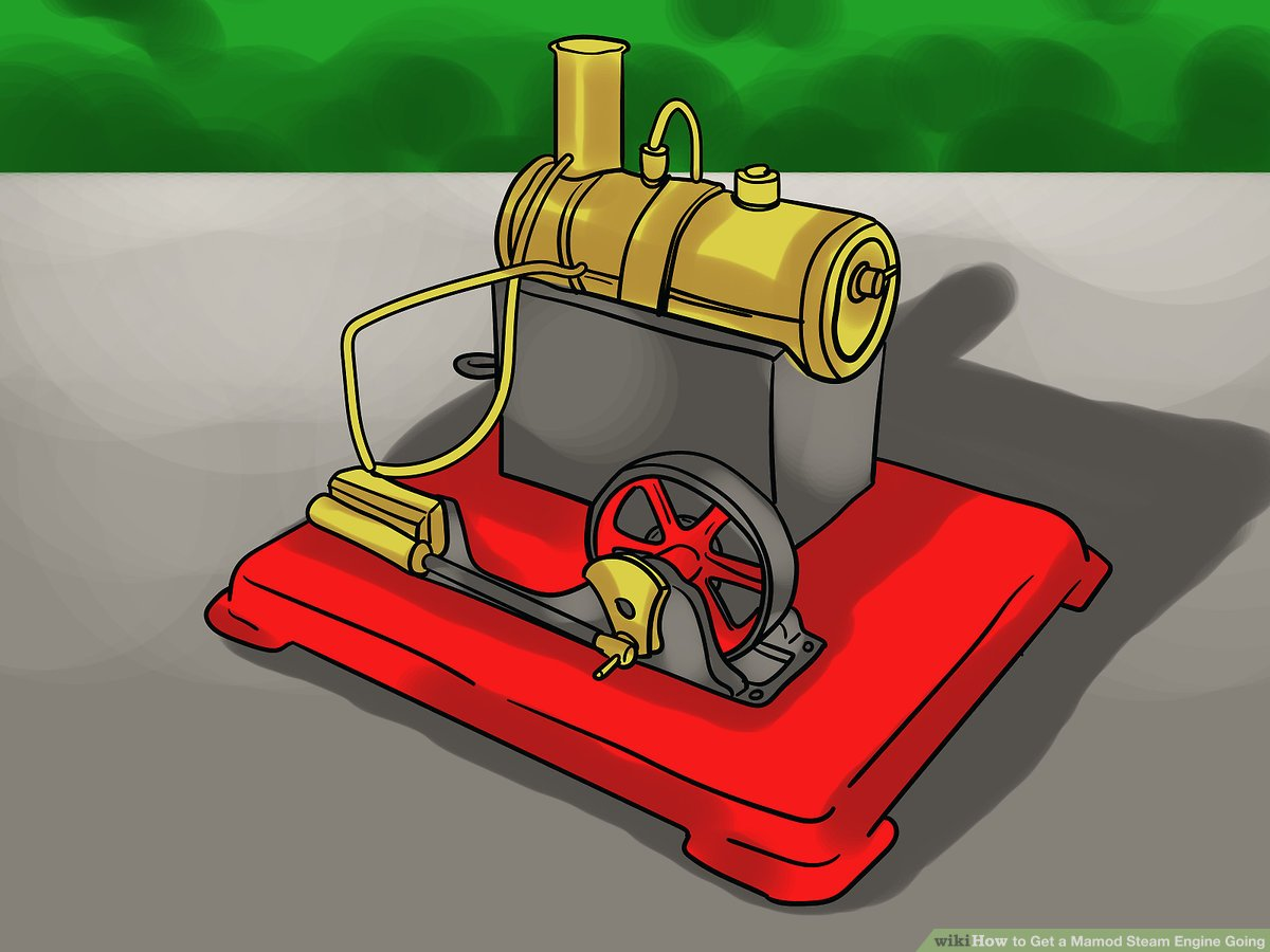 Free clipart running out of steam roller royalty free stock How to Get a Mamod Steam Engine Going: 15 Steps (with Pictures) royalty free stock