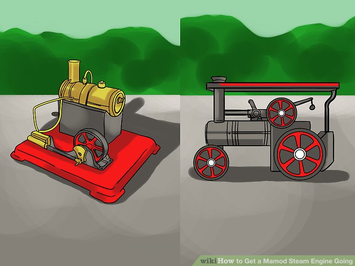 Free clipart running out of steam roller vector transparent stock How to Get a Mamod Steam Engine Going: 15 Steps (with Pictures) vector transparent stock