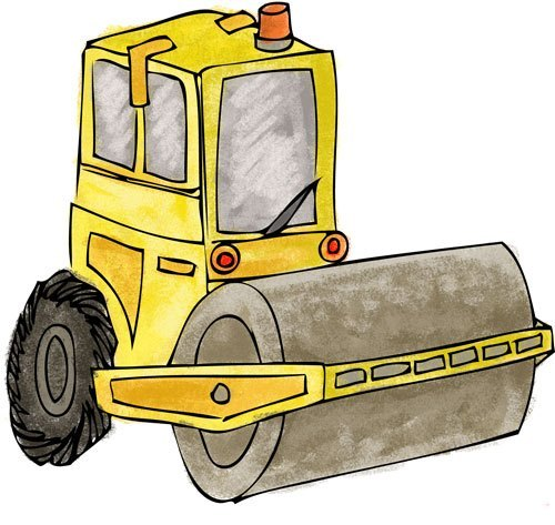 Free clipart running out of steam roller image transparent stock Steamroller - The Game Gal image transparent stock