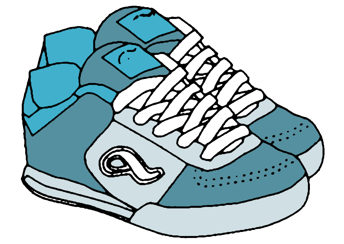 Shoes images clipart jpg transparent library Free Running Shoe Clipart, Download Free Clip Art, Free Clip Art on ... jpg transparent library