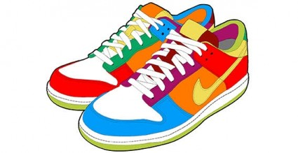 Download clip art on. Free clipart running shoes