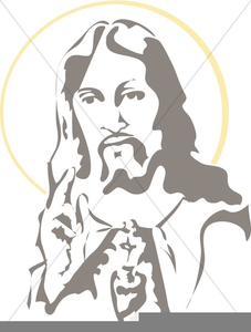 Free clipart sacred heart of jesus clip art black and white Free Sacred Heart Of Jesus Clipart | Free Images at Clker.com ... clip art black and white