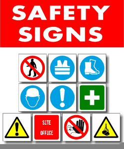 Free clipart safety symbols jpg freeuse download Industrial Safety Signs And Symbols Clipart | Free Images at Clker ... jpg freeuse download