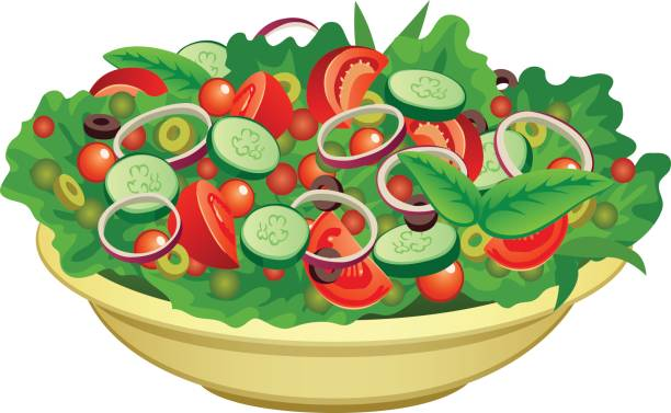 Free clipart salads clip art royalty free library Salad Clipart & Free Clip Art Images #32841 - Clipartimage.com clip art royalty free library