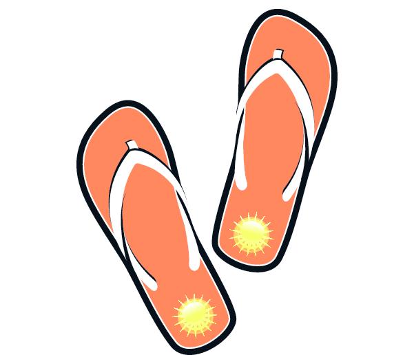 Sandals cliparts download clip. Free sandal clipart