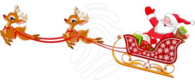 Free clipart santa and sleigh picture royalty free 104+ Santa And Sleigh Clipart | ClipartLook picture royalty free