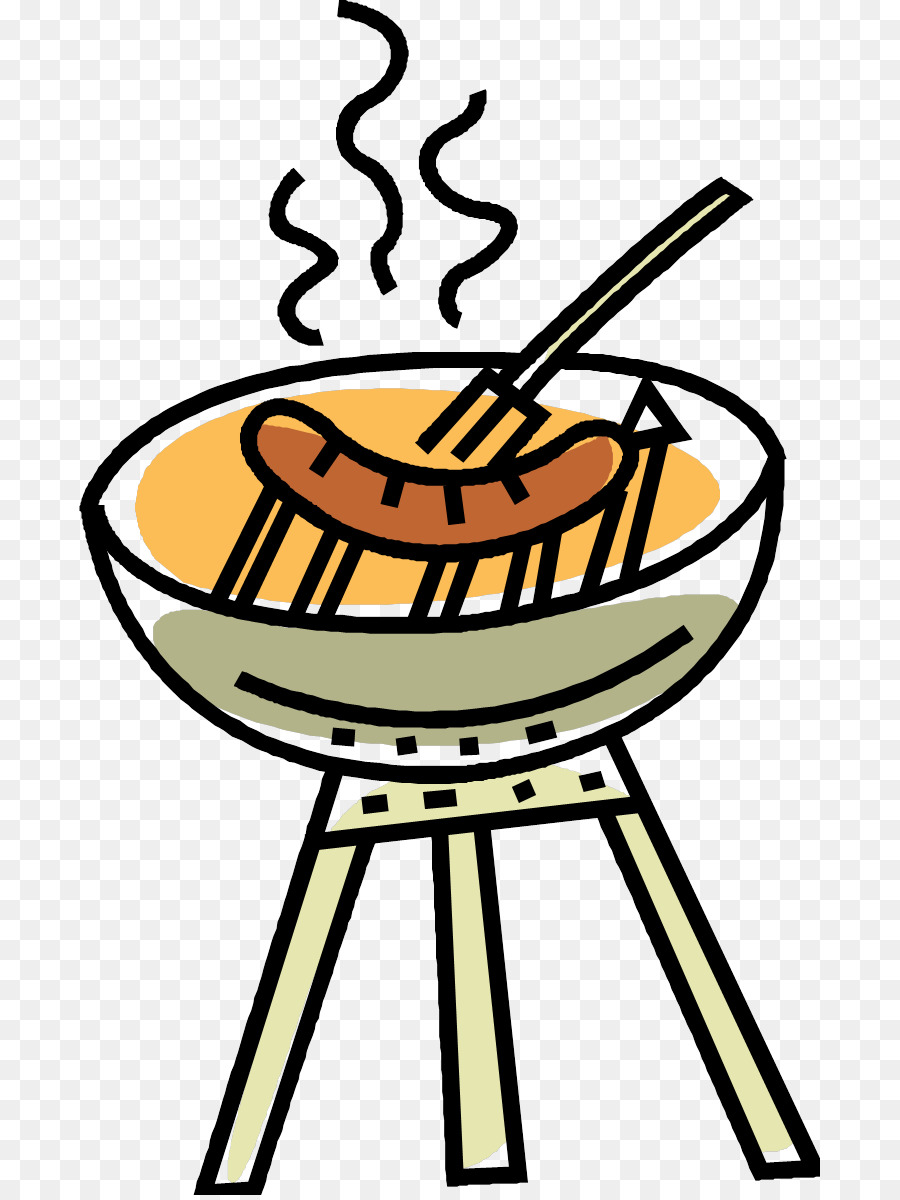 Free clipart sausage sizzle clip transparent stock Pizza Cartoon png download - 741*1195 - Free Transparent Barbecue ... clip transparent stock
