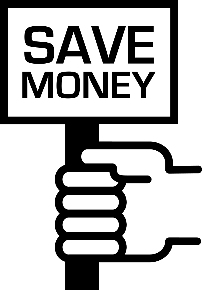 Free clipart save money png transparent Save Money Message On A Signal In A Hand Svg Png Icon Free Download ... png transparent