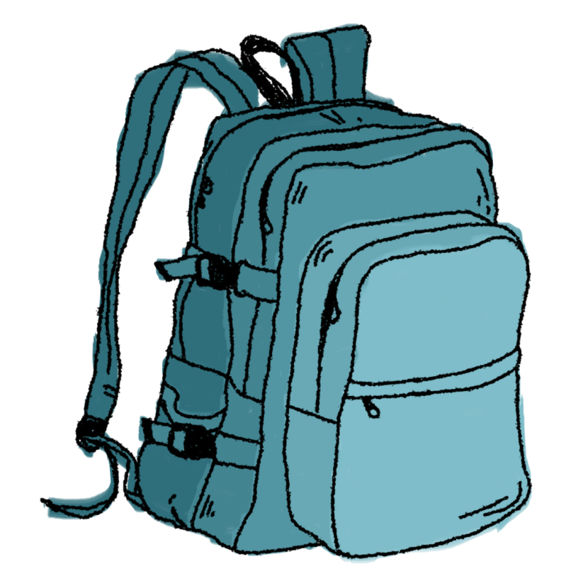 Free clipart school backpack png black and white stock Backpack Clipart Images png black and white stock