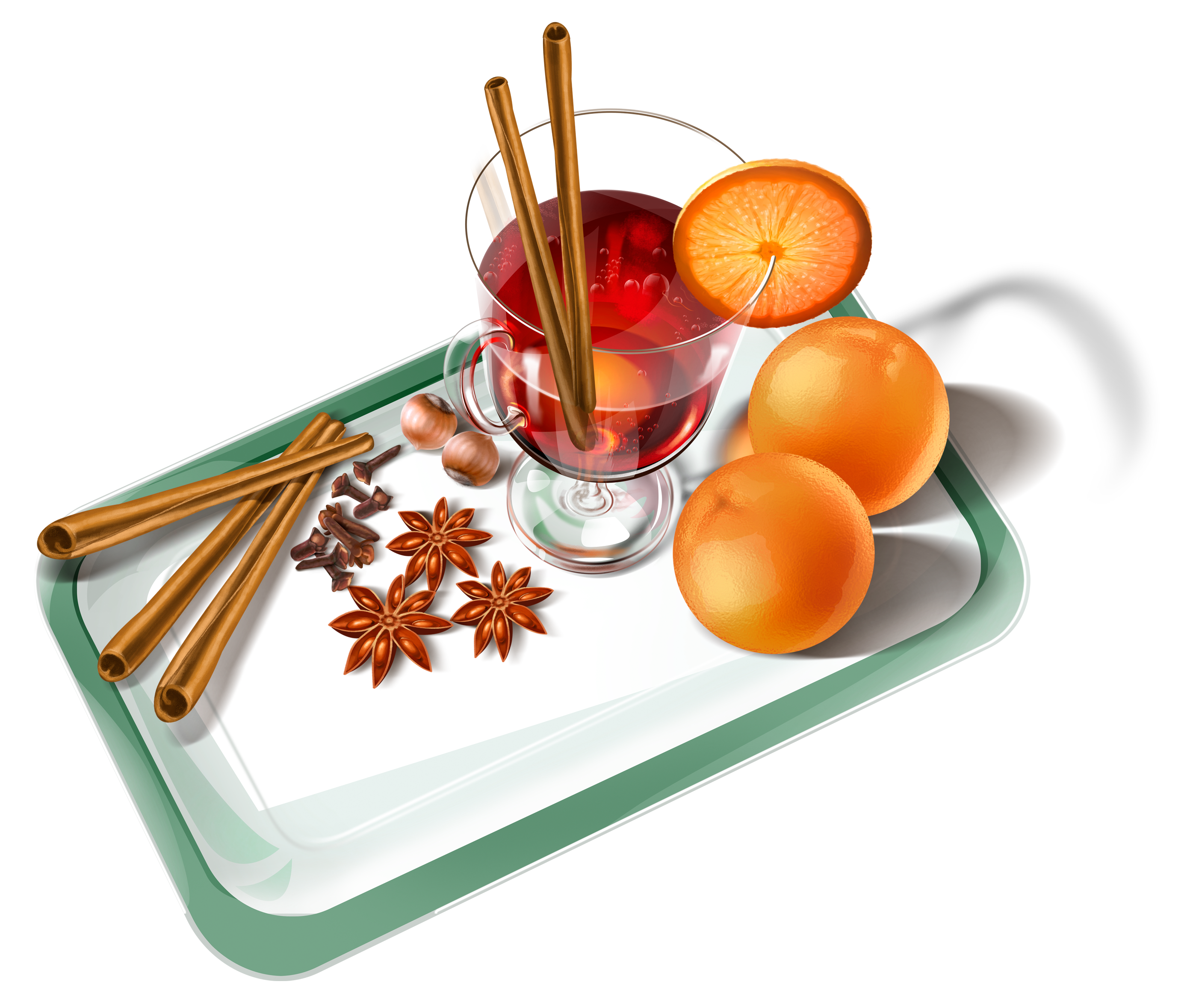 Free clipart school lunch tray png black and white Tray with Cup of Tea PNG Clipart | Gallery Yopriceville - High ... png black and white