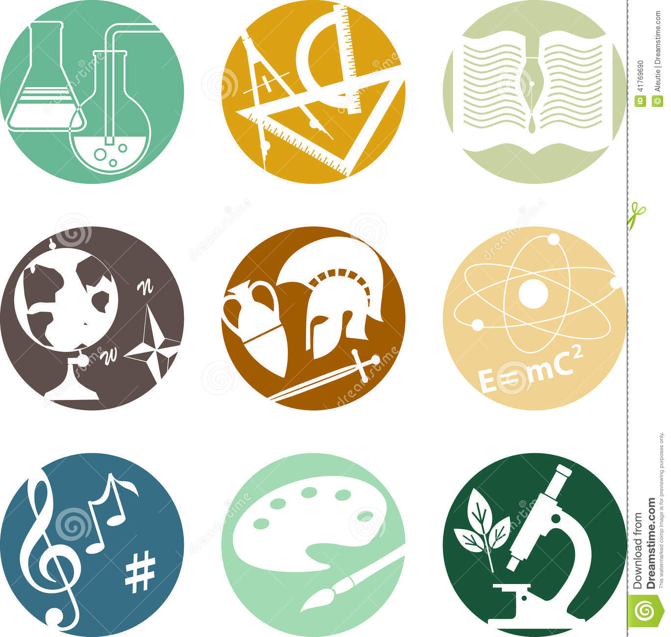 Free clipart school subjects banner download School subjects icons | Clipart Panda - Free Clipart Images banner download