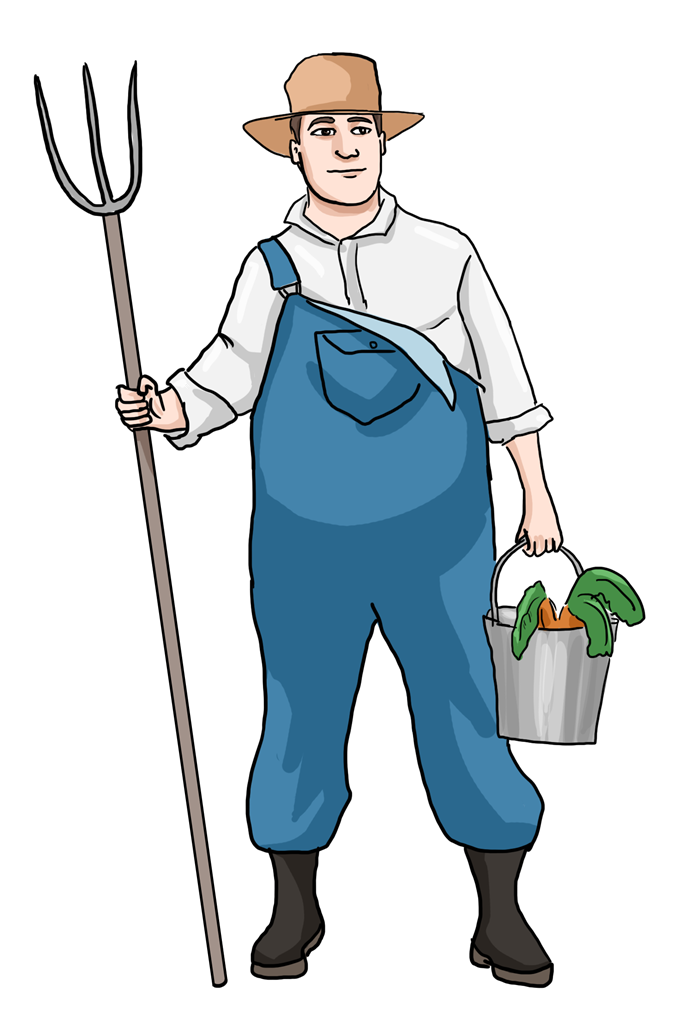 Free clipart school uniforms royalty free library Farmer clipart black and white free images - Cliparting.com royalty free library