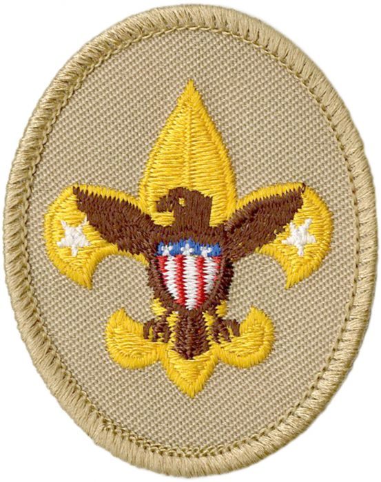 Tenderfoot clipart image free library Tenderfoot Rank Emblem image free library