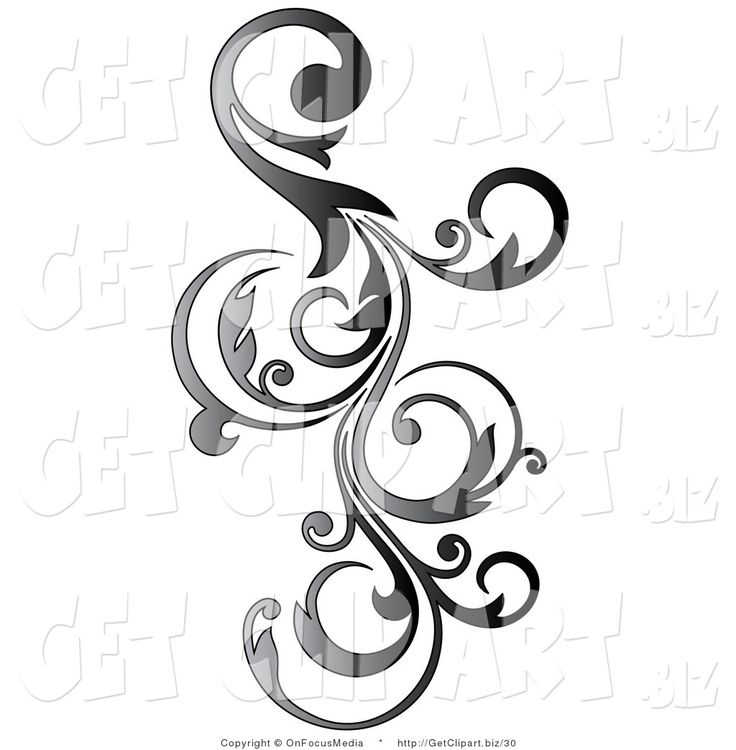 Free clipart scrolls and flourishes with swords png royalty free download Flourish Clipart | Free download best Flourish Clipart on ClipArtMag.com png royalty free download