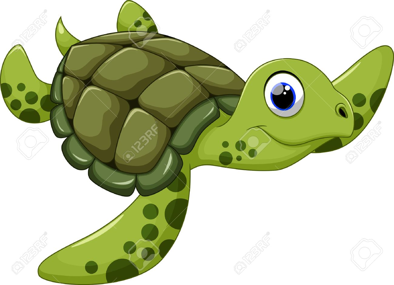 Free clipart sea turtle
