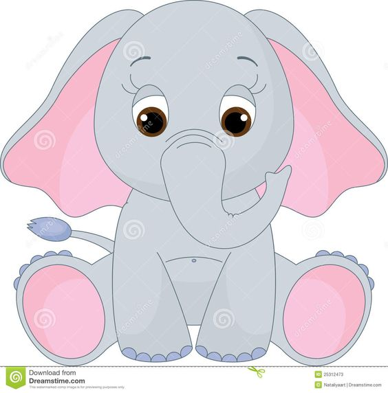 Free clipart search black and white download free baby elephant clip art - Google Search | B-day party ... black and white download