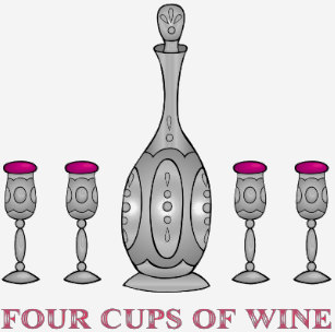 Free clipart seder 4 cups of wine clipart transparent download Funny Seder Gifts & Gift Ideas | Zazzle UK clipart transparent download