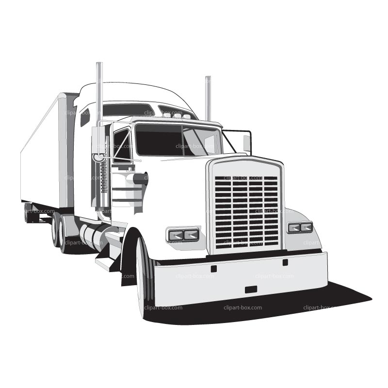 Free clipart semi trucks graphic library library Free Tractor Truck Cliparts, Download Free Clip Art, Free Clip Art ... graphic library library