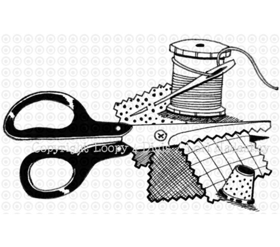 Free clipart sewing items banner black and white stock Free Sewing Supplies Cliparts, Download Free Clip Art, Free Clip Art ... banner black and white stock
