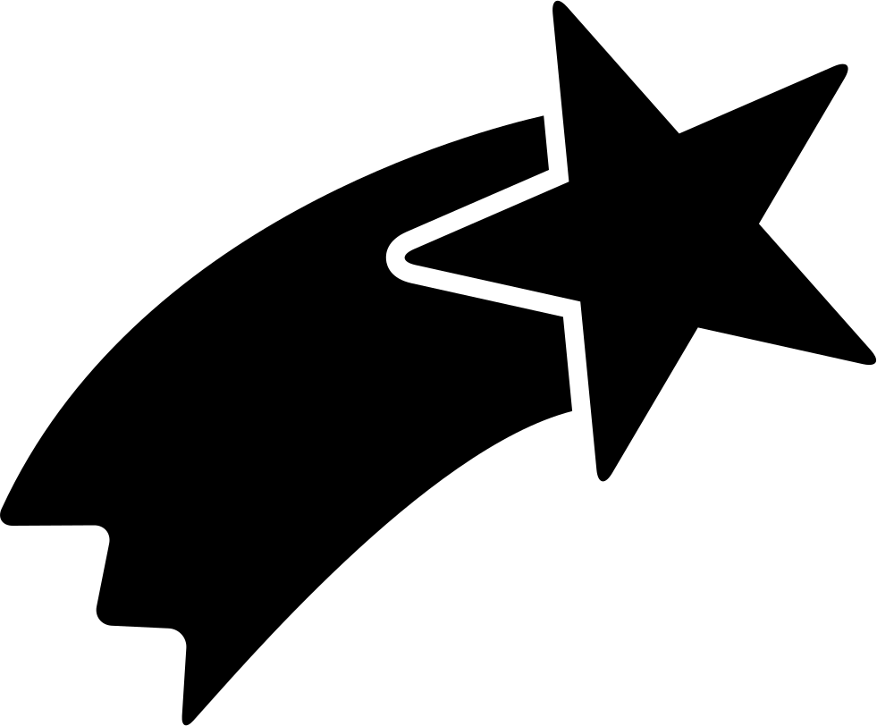 Star clipart jpeg image library stock Shooting Star Shape Svg Png Icon Free Download (#34098 ... image library stock