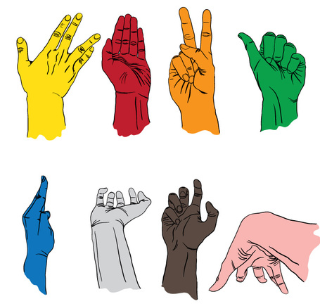 Free clipart sign language image transparent Free clipart sign language - ClipartFest image transparent