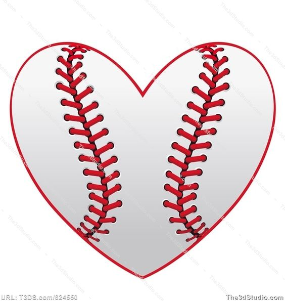 Free clipart silhouette hearts image black and white download free softball clipart | Baseball heart Stock Photo Stock Image ... image black and white download