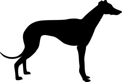 Free clipart silhouette of a hound clipart transparent free images greyhound silhouette | Crafts | Grey hound dog, Dog ... clipart transparent